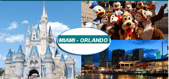 The best that Miami and Orlando can offer for a perfect vacation